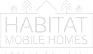 Habitat Mobile Homes Logo white